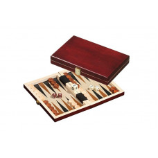 Backgammon set in wood Saloniki XS Travel