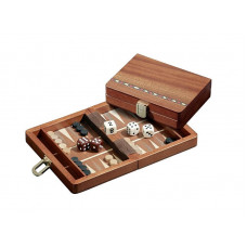 Backgammon board in Wood Egina XS Travel