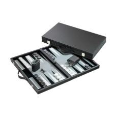 Backgammon M, Classic in Gray