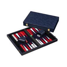 Backgammon M, Classic in Blue