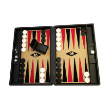 Backgammon board M Popular 36 mm Stones BL-be-bl-re