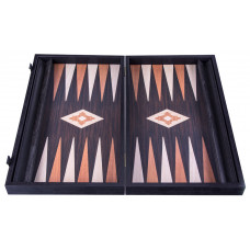 Backgammon Board in Wenge Wood Hefaistos L