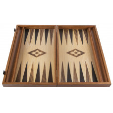 Backgammon Board in Walnut Apollon L