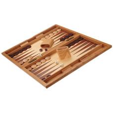 Backgammon set in Wood Milos L