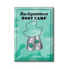 "Backgammon book 340 p ""Backgammon Boot Camp"""
