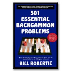 """Backgammon book """"Backgammon Problems"""" 384 p"""