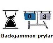 Backgammon-prylar