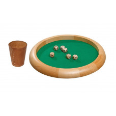 Dice Game Set Natur M