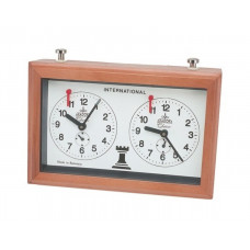 Chess clock Aradora mechanical wooden case