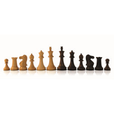 Wooden Chessmen Hand-carved Staunton KH 80 mm