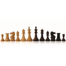 Wooden Chess pieces Hand-carved Staunton KH 95 mm