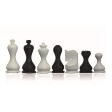 Schackpjäser i modern stil Gallant Glossy 95 mm