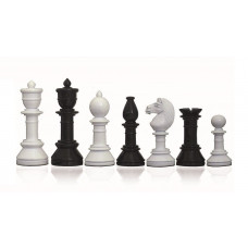 Modern Chessmen Glossy Suitor KH 105 mm