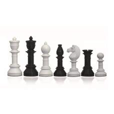 Schackpjäser i modern stil Suitor Glossy 105 mm
