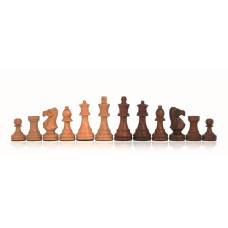 Wooden Chessmen Hand-carved Classic KH 85 mm