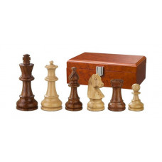 Wooden Chessmen Hand-carved Sigismund KH 76 mm