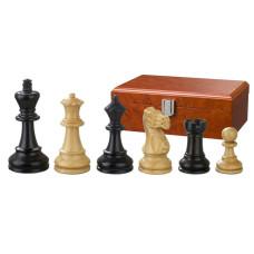 Schackpjäser handsnidade i trä 90 mm Hadrian