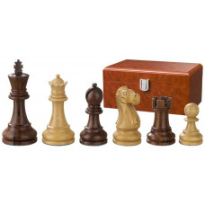 Wooden Chessmen Hand-carved Tutencham KH 95 mm