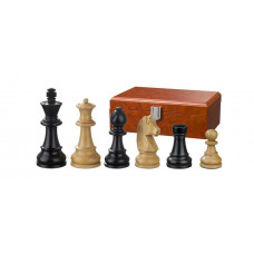 Wooden Chessmen Ludwig XIV hand-carved KH 65 mm