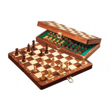 Chess complete set Deluxe Travel S (2711)
