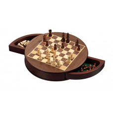 Schack komplett set Rounded Magnetiskt S
