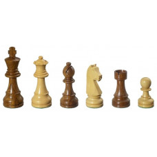Wooden Chessmen hand-carved Arcadius KH 95 mm