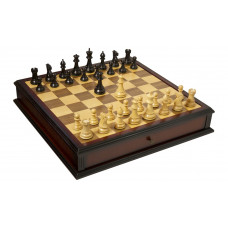 The Classic Series Library HOS Schack- och dam-set L