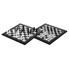 Draughts 10x10 & Chess 8x8 Combo Stylish