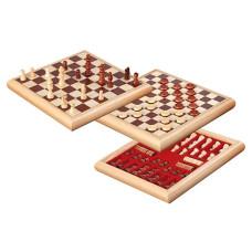 Dam & Schack Två i ett Kombo Natur