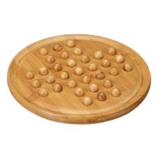 Solitaire-spel Bambu och trämarmor M