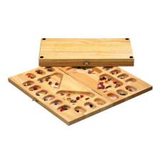 Kalaha för 2-4 spelare i trä Sällskaplig version