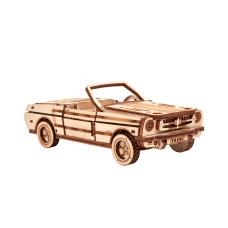 3D pussel - Cabriolet Wood Trick