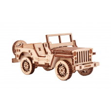 Wooden 3D puzzle Safari Car